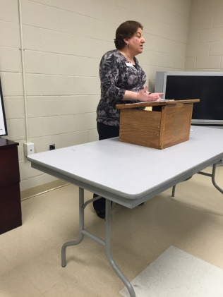 District 29 Club Growth Director Amy Brener spoke about the Revitalized Education Program.